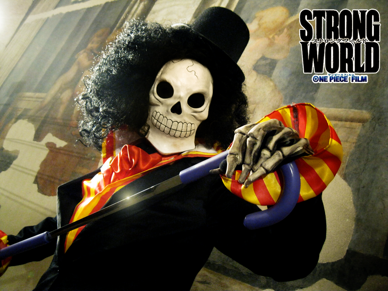 One Piece Strong World Images Brook Cosplay Strong World Hd