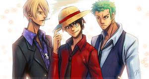 One_Piece___Monster_Trio