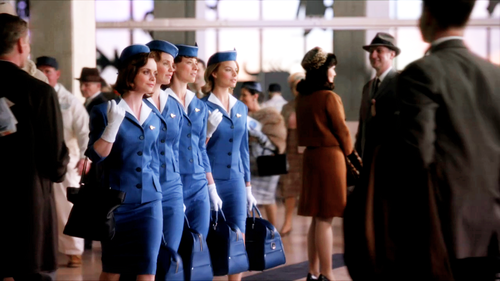 Pan Am wallpaper containing a business suit, a well dressed person, and a suit entitled Pan Am Quartet