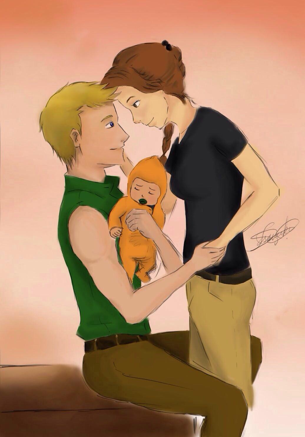 Katniss and Peeta ๑