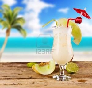 Caribbean piña colada