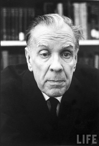 Poets & Writers wallpaper with a business suit called Jorge Luis Borges