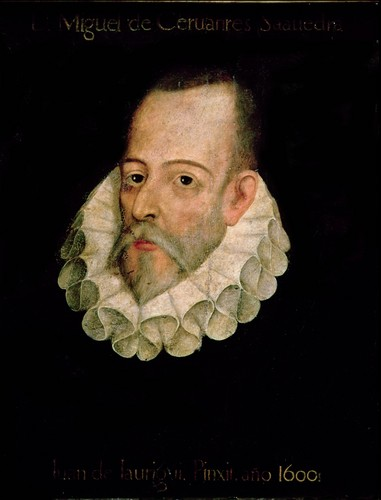 Poets & Writers wallpaper probably with anime entitled Miguel de Cervantes