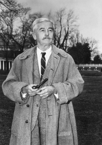 Poets & Writers wallpaper containing a business suit called William Faulkner