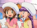 Sakura and Tomoyo (Cardcaptor Sakura) making their brief appearance in Pokemon - pokemon photo