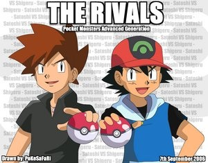 Gary and Ash: Once rivals, now best Marafiki