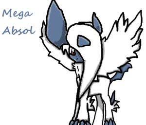 Mega Absol Drawing