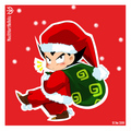 CHRISTMAS VEGETA - prince-vegeta fan art