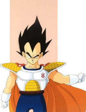 Adult Prince Vegeta