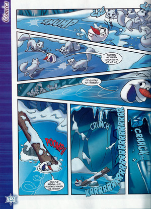 La Reine des Neiges Comic