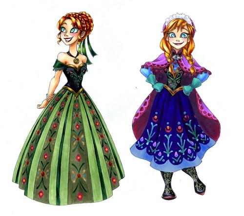 Princess Anna 바탕화면 titled Anna