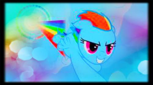 My Little Pony-Rainbow Dash wallpaper titled Rainbow Dash - Cutie Mark