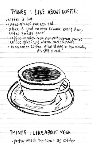 things i like about coffie ♠