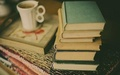 Books with Coffee ♡ - reading photo