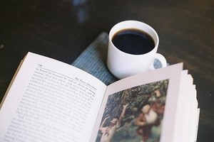 Book with Coffee ♡