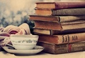 Books with Tea ♡ - reading photo
