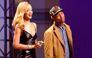 """Rihanna and Pharrell """"Styled to rock"""""""