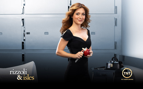 Rizzoli & Isles achtergrond titled maura isles