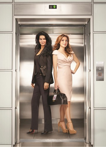 Rizzoli & Isles wallpaper probably containing a hip boot and a well dressed person entitled jane rizzoli and maura isles