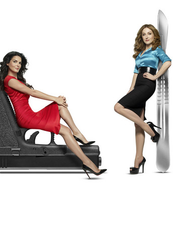Rizzoli & Isles wallpaper possibly with bare legs, tights, and a leotard called jane rizzoli and maura isles