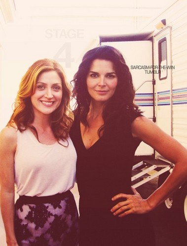 Rizzoli & Isles wallpaper with a portrait called jane rizzoli and maura isles
