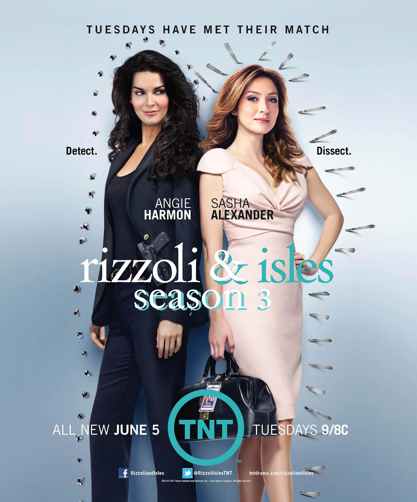 jane rizzoli and maura isles - poster