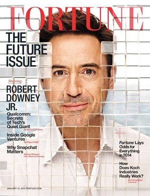 Robert Downey Jr for Fortune Magazine