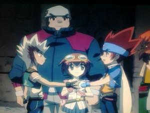 Ryuto and Gingka