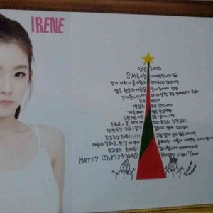 131221 Irene's Message @ SMTOWN Week