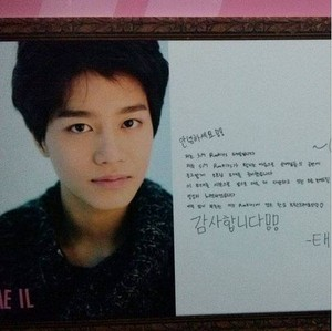 131221 Taeil's Message @ SMTOWN Week Exhibition.