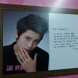 131221 Jaehyun's Message @ SMTOWN Week Exhibition