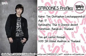"Newly launched Pre-Debut Team SMROOKIES ""TEN"""