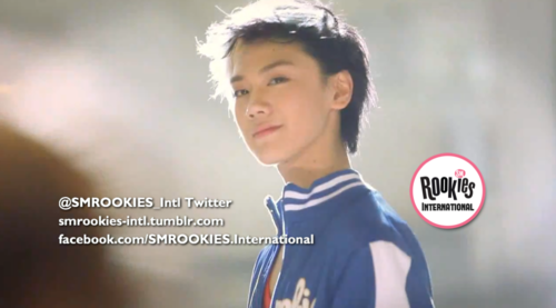 SM ROOKIES پیپر وال probably containing a portrait entitled [SCREENCAP] Ten in Change Teen Superstar MV