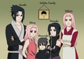Uchiha Family - sasusaku photo