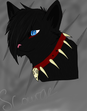 Drawing of Scourge