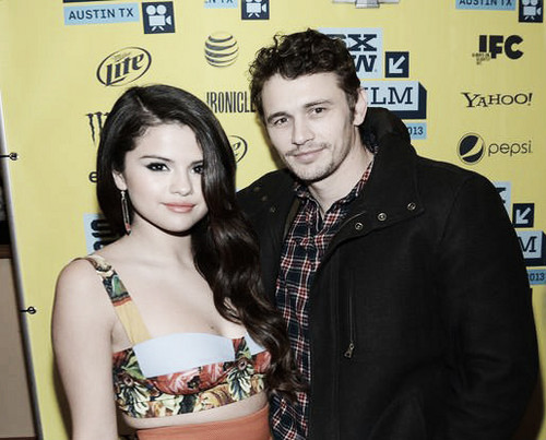 Selena Gomez achtergrond entitled selena gomez and james franco