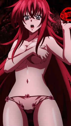 Sexy, hot anime and characters karatasi la kupamba ukuta possibly containing anime entitled Rias Gremory