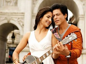 SRK with Katrina Kaif