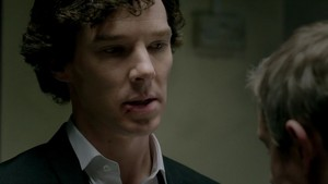 Sherlock 3x01 badges