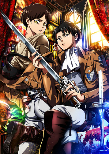 Shingeki no Kyojin (Attack on titan) wallpaper with anime entitled Ereri