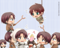 Chibi           - shingeki-no-kyojin-attack-on-titan fan art