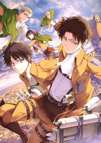 Shingeki no Kyojin (Attack on titan) wallpaper with anime entitled SNK