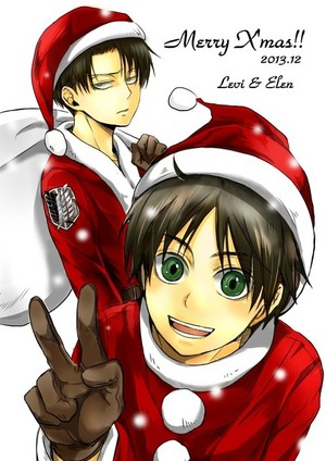 Levi and Eren Holidays