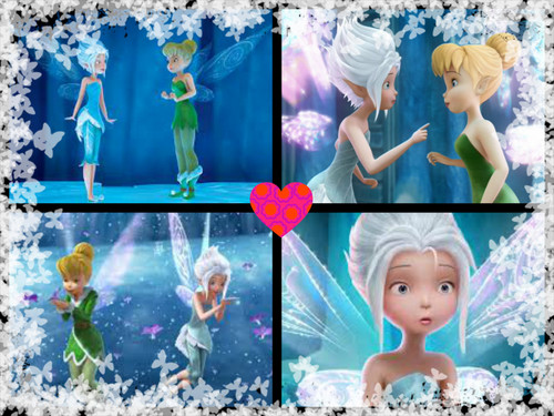 Sparkly wings of Periwinkle and Tinkerbell images Sister's ...