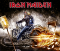 iron maiden - skulls photo