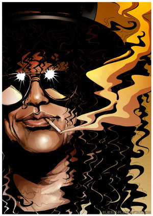 Slash fan art