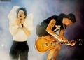 Slash and MJ - slash photo