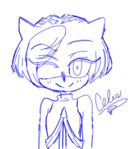 Sonic người hâm mộ Characters hình nền titled Short Hair <3