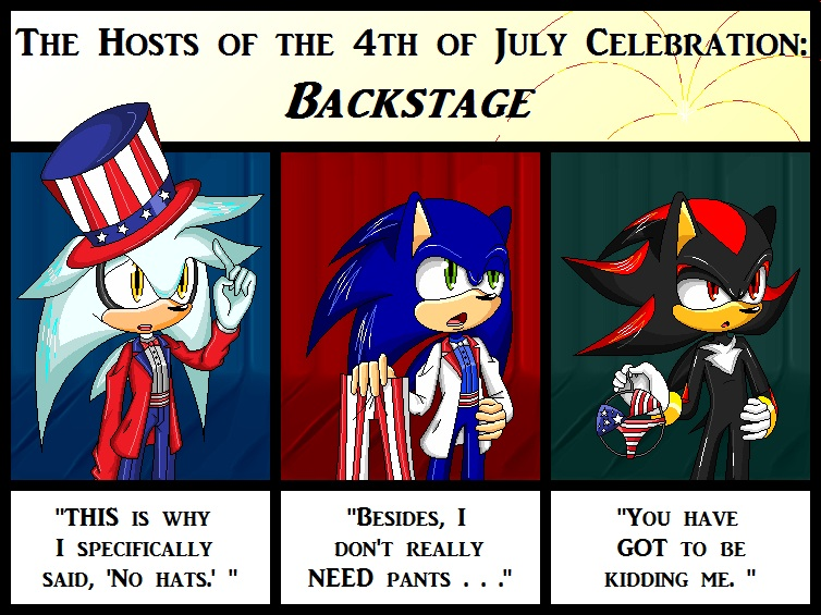 Hosts of 4th of July