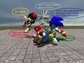 Sonic vs Mario - sonic-the-hedgehog photo